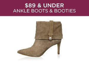 $89 & Under: Ankle Boots & Booties