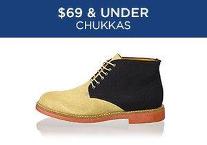 $69 & Under: Chukkas