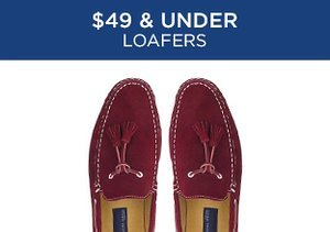 $49 & Under: Loafers