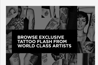 Browse Exclusive Tattoo Flash