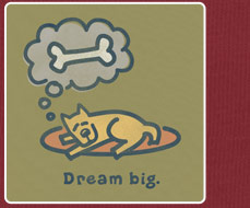 Men's Tee - Dream Big Rocket