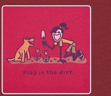 Women's Tee - Play In The Dirt