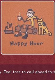 Men's Tee - Happy Hour