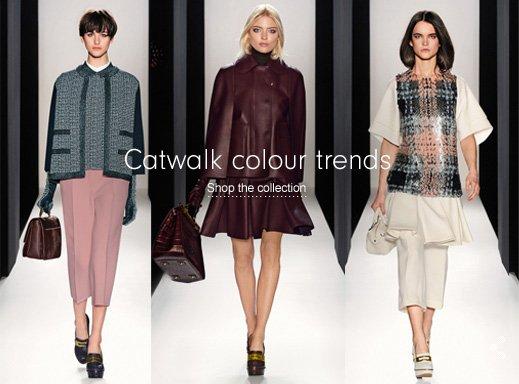Catwalk colour trends