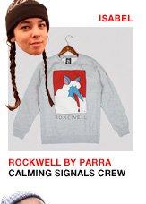 Rockwell by Parra Calming Signals Crewneck