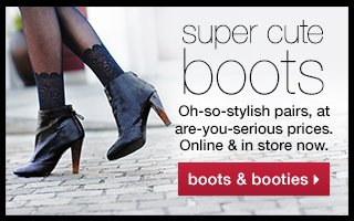 super cute boots. Online & in store now.