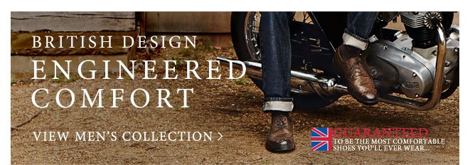 British Design engineered comfort
