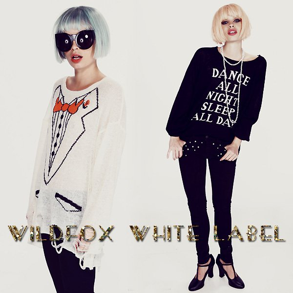Shop Wildfox White Label at Boutique To You.