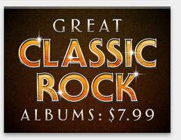 Great Classic Rock Albums: $7.99