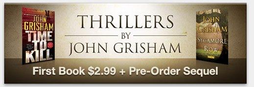 Thrillers by John Grisham
