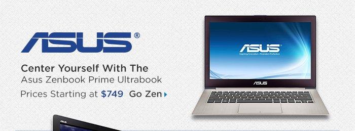 Adorama - Asus Zenbook Prime Ultrabook