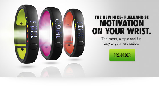 THE NEW NIKE+ FUELBAND SE | PRE-ORDER