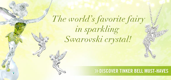 Tinker Bell in sparkling Swarovski crystal