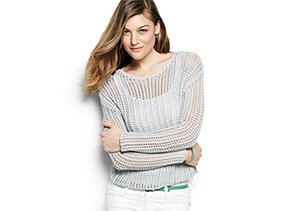 Sweater Specialty: Texture & Shine