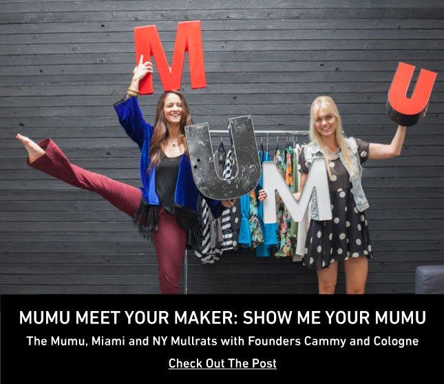 Meet Your Maker: Show Me Your Mumu