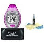 Timex T5K734 Women's Digital Grey Dial Strap Watch with 30ml Watch Cleaning Kit