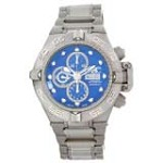 Invicta 11047 Men's Subaqua Noma IV Blue Dial Titanium & Steel Bracelet Automatic Chronograph Dive Watch