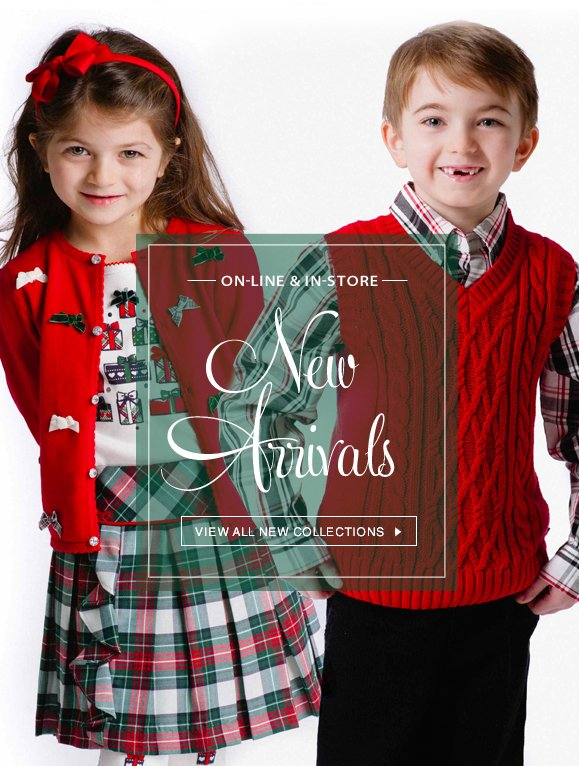 NEW ARRIVALS! Just In for the Holidays · View All New Collections! Hurry, Shop New Arrivals Now!