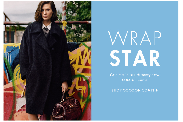 WRAP STAR - SHOP COCOON COATS