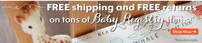 Free  shipping & returns on Baby Registry.