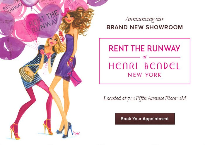 RTR at Henri Bendel - Book Your Appointment