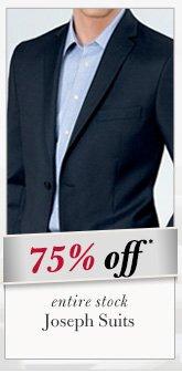 75% OFF* Joseph Suits