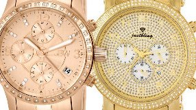 Blinged-Out Watches and Jewelry