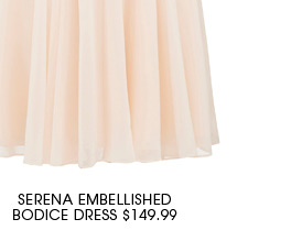 SERENA EMBELLISHED BODICE DRESS