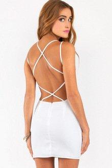 CRADLE BACK DRESS 36