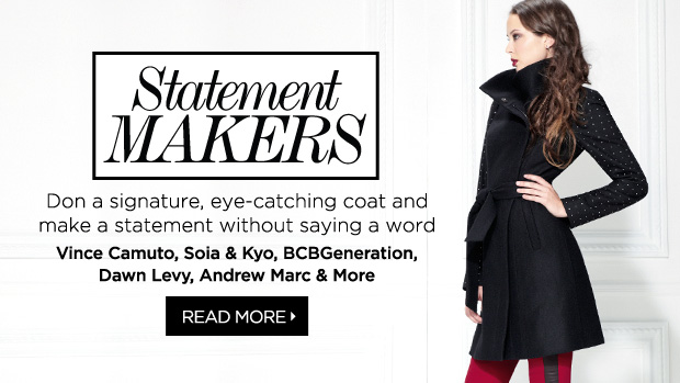 New Arrivals: Coats