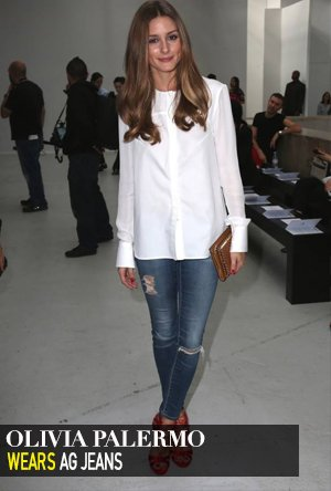 Olivia Palermo in AG Jeans