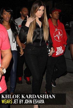 Khloe Kardashian in Jet