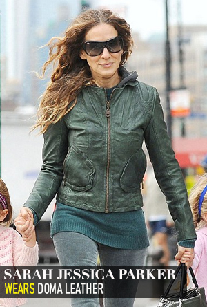Sarah Jessica Parker in Doma Leather