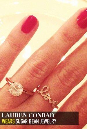 Lauren Conrad in Sugar Bean Jewelry