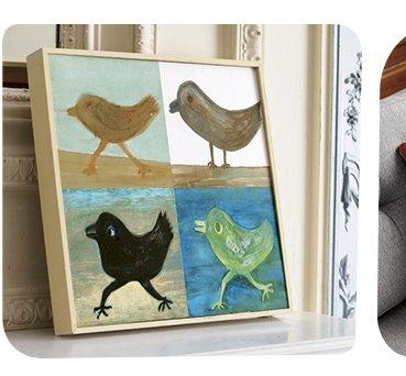 1. four birds print 99.95