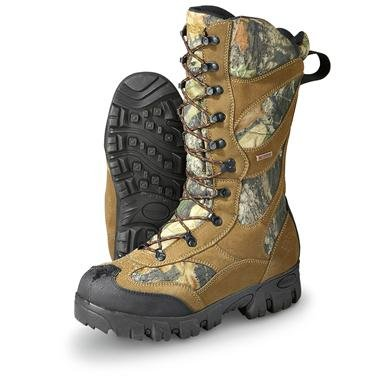 Men's Guide Gear® Waterproof 1,400 gram Thinsulate™ Ultra Insulation Giant Timber II Boots
