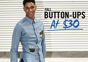 Shop Fall Button-Ups $30 & Under