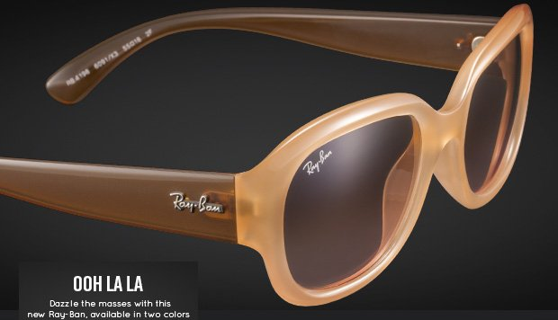 Dazzle the masses with this new Ray-Ban 4198
