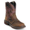 """Justin Gypsy Women's 8"""" Steel Toe Western Boots"""