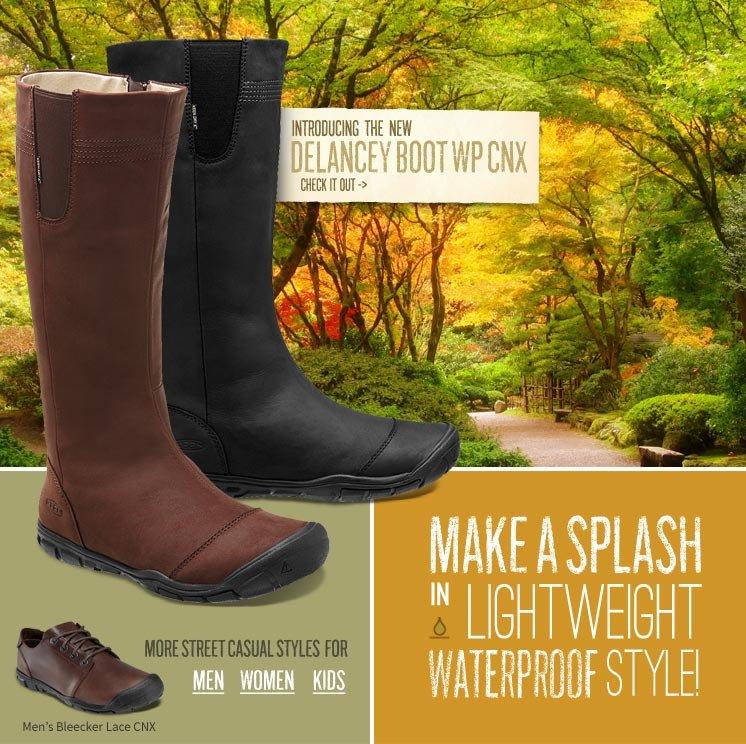 Make a Splash in Lightweight Waterproof Style!