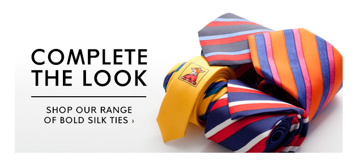 COMPLETE THE LOOK - SHOP TIES
