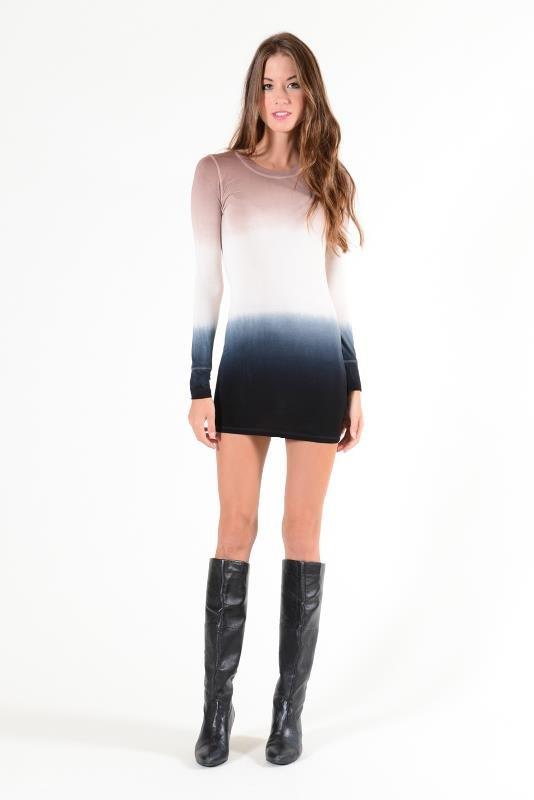 YFB Ombre Keaton Mini Dress