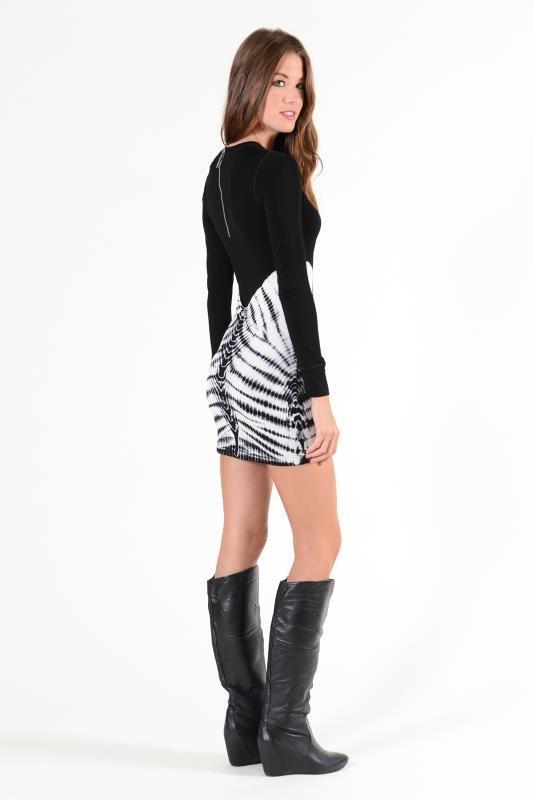 YFB Skeleton Keaton mini dress