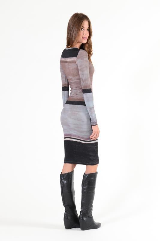 YFB Synthetic Print Lulu dress
