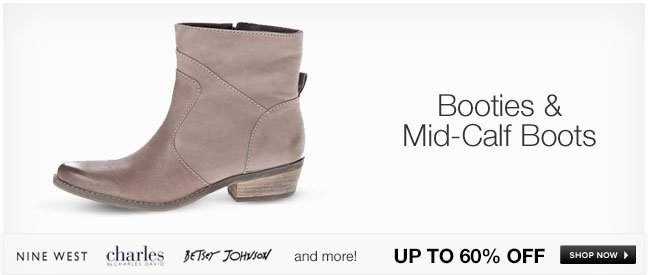 Booties and Mid-Calf Boots