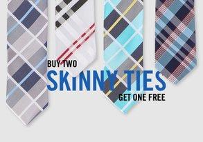 Shop Season's Best Skinny Ties Under $18