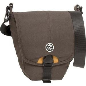 Adorama - Crumpler 3 Million Dollar Home Shoulder Bag - Brown/Orange  with FREE Crumpler Industry Disgrace Strap (a $35 Value)