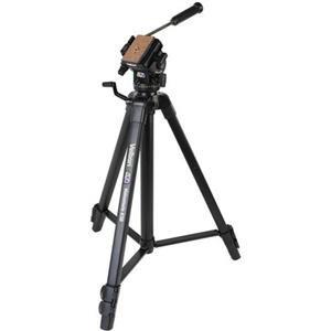 Adorama - Velbon Videomate 638/F Aluminum Tripod with Fluid Pan and Tilt Head