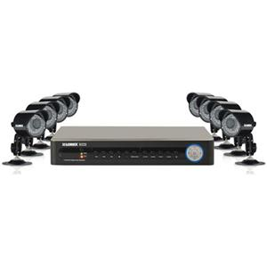 Adorama - Lorex Vantage 8 Channel DVR 500GB 8 Weatherproof Security Camera System