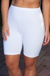 "As Seen On NBC's Hit Show ""The Biggest Loser"" - Women's Plus Size Workout Clothing - 9557A Plus Size Bike Short - $33"